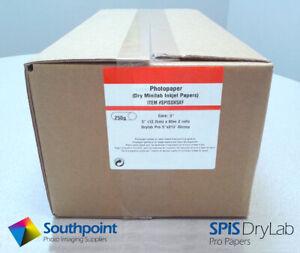 "SPIS Drylab Paper 5"" x 213' Glossy 2 Roll Case (Fuji & Epson)"