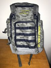 Under Armour SC Stephen Curry Backpack Camo Digital Camouflage Grey Blue Yellow