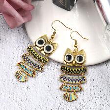 Fashion Pendant Drop Dangle Hook Earrings Vintage Cute Owl Jewelry G