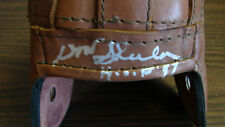Don Shula Autograph Replica Mini Leather Helmet Miami Dolphins
