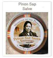 Navajo Medicine Of The People Pinon Sap Burns Salve  0.75 oz, Pow Wow