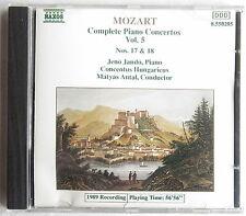 CD (S) - Mozart-Complete Piano Concertos vol. 5-Jenö Jando, pianoforte