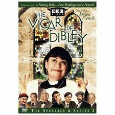 Vicar of Dibley, Complete Series 2 DVD 2003 BBC  EXCELLENT / MINT CONDITION