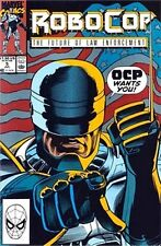 ROBOCOP 5 1990 MARVEL SERIES FUTURE OF LAW ENFORCEMENT NM