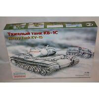 EASTERN EXPRESS SOVIET ARMY HEAVY TANK KV-1S 1/35 SCALE PLASTIC MODEL KIT