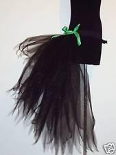 noir burlesque Ceinture mouvement tutu tulle sexy déguisement fête halloween