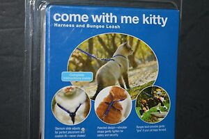 PetSafe Come With Me Kitty Harness and Bungee Leash Color Red/Cranberry Brand Ne