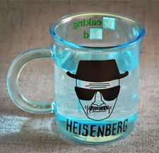 Breaking Bad Heisenberg Mug Blue Graduated Glass Measuring Cup Coffee Tea Milk