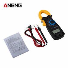 Handheld Digital Multimeter Tester LCD AC DC Volt Ohm Amp Clamp Meter Auto Range