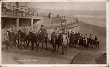 Filey. Riders on Filey Sands in RA Series.