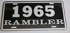 METAL LICENSE PLATE 1965 65 RAMBLER NASH AMC AMERICAN MOTORS 660 440