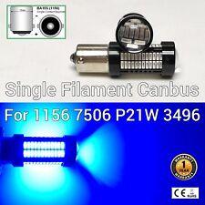 Front Signal Light 1156 BA15S 7506 3497 P21W 108 SMD Blue LED Bulb M1 MAR