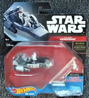 Hot Wheels Die Cast Star Wars First Order Snow Speeder MOC 2015
