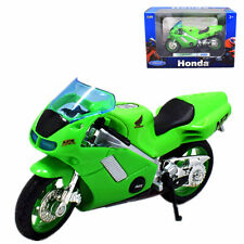 1:18 Welly Honda NR Motorcycle Bike Model New in Box Green