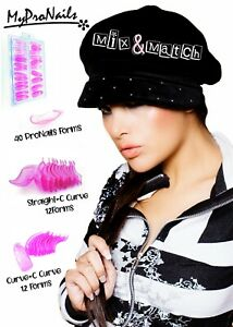 Pro nail and Mix & Match KIT Best dual forms