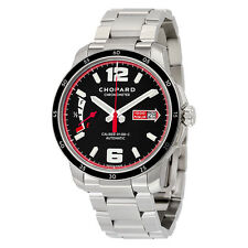 Chopard Millie Miglia GTS Automatic Black Dial Silver Stainless Steel Mens
