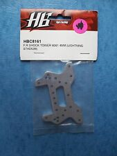 HOT BODIES HPI 8161 FRONT OR REAR SHOCK TOWER 4MM LIGHTING STADIUM 6061 HBC8161