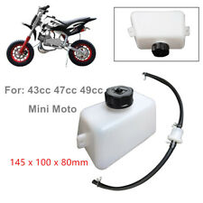 2-Stroke 43cc 47 49cc Oil Can Gas Petrol Fuel Tank Plastic Filter Hose Container