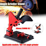 Angle Grinder Stand 45° Cast Iron Cutting Fixing Clamp Holder Bracket Accessory