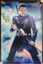 "Aquaman Vulko Dc Comics 2018 Film 18"" Fabric Advertising Banner Movie Poster"