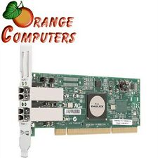 NEW Emulex LP11002-E Dual Channel LC 4Gb/s Fibre PCI-X 2.0 HBA Network Adapter