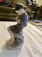 "New listing 1956 Vintage Royal Copenhagen Figurine #905 ""Boy Whittling Stick�"
