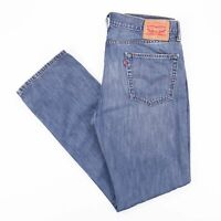 Vintage LEVI'S 514 Regular Straight Fit Men's Blue Jeans W34 L34
