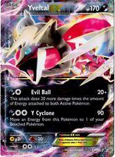 Pokemon XY Shiny Yveltal-EX - XY150 Holo Promo Card FROM Shiny Kalos Tin