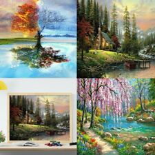 Paint by Numbers Acrylic Diy Oil Painting Kits for Adults Beginners 16x20 Inch#Z
