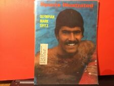 MARK SPITZ SIGNED 1972 SPORTS ILLUSTRATED/ SWIMMER-7 GOLD MEDALS,1972 OLYMPICS
