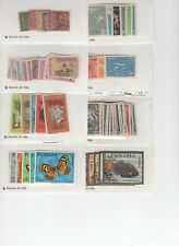 PANAMA 40 Carded Lots 1880's to 1980's. 175 stamps over $250 CV Harris Collector
