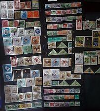Hongrie MAGYAR Grand timbres Jeux/collection de différents albums de 421 timbres #2