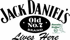 Jack Daniels  vinyl decal 265 x 155 mm BUY 2 & Receive 3