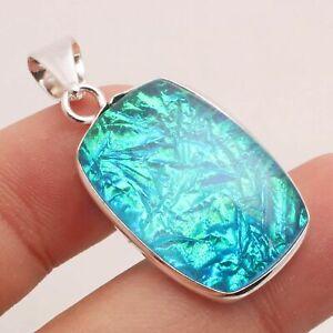 "Triplet Opal Gemstone Ethnic Jewelry Handmade Designer Pendant 1.26"" P-13638"