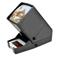 35mm Slide Viewer LED Transparency Viewer 3X Magnification Handheld Viewer fL5P7