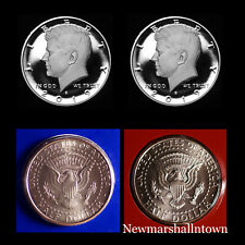 2019 P+D+S+S Kennedy Half Dollar Silver Clad Mint Proof Set ~ PD from Mint Set