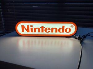 Large Nintendo USB LED Light Up Sign Light Box USB Lamps
