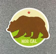 NOR CAL PLYMOUTH Sticker NORCAL Bear 4in si