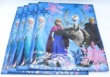 Hallmark Disney Frozen Gift Bag 10x13 Elsa Anna Sven Lot of 4