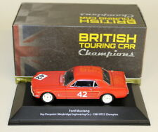 Atlas 1/43 Scale Ford Mustang Roy Pierpoint 1965 BTCC Champ Diecast Model Car