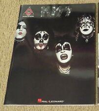 KISS 1st LP GUITAR TAB SONGBOOK NEW