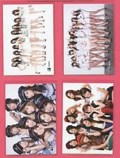 (4) SNSD Star Collection Card Scratch Jessica Yoona TaeYeon Yuri Tiffany LOT GG
