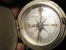 Keuffel & Esser Surveyors Railroad Pocket Compass WWII VINTAGE ANTIQUE