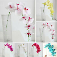 Butterfly Orchid Real Touch Artificial Fake Plant Flowers For Wedding Home Decor