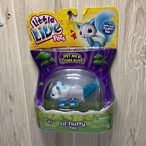 """Little Live Pets """" Lil' Fluffy Fox""""  New Sealed"""