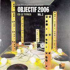 Compilation Les Inrockuptibles CD Objectif 2006 - Vol. 2 - France (VG+/EX)