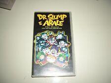 VHS DR. SLUMP E ARALE UNA VACANZA MOSTRUOSA DYNAMIC  ANIME MANGA DVD MANGA ANIM