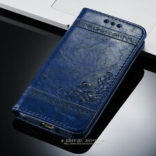 Luxury Magnetic Leather Wallet Flip Case Cover For Apple iPhone X 6s 7 8 Plus 5s