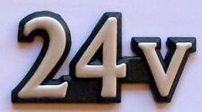 GENUINE MG ROVER 75 + 800  24v REAR BADGE DAL10181