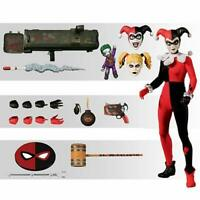 Mezco ONE 12 COLLECTIVE Harley Quinn Deluxe Edition 6 inch figure* PREORDER*